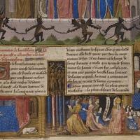 Saint Augustin prêchant aux païens