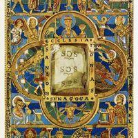 Église, Synagogue, Scènes et personnages de l'Ancien et du Nouveau Testament