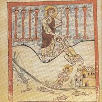 Vision de saint Jean à Patmos