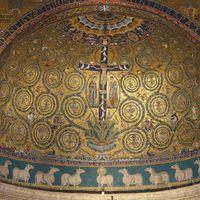 Christ en croix, arbre de vie