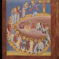 Procession vers le Christ en croix, procession vers le Christ en gloire