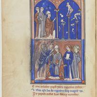 Saint Denis brisant les idoles