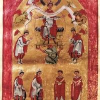 Couronnement d'un empereur par Dieu