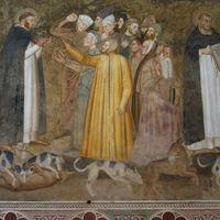 Dominicains prêchant aux hérétiques