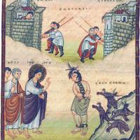 Christ guérissant le démoniaque de Gérasa